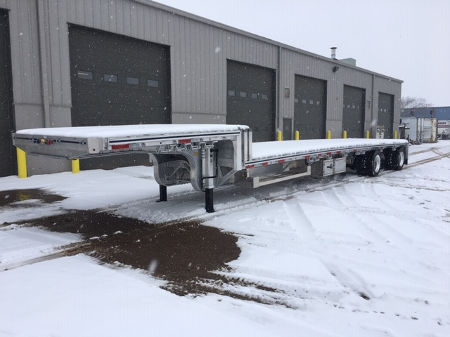 Step Deck Trailers at Kingpin Locations Across Western Canada