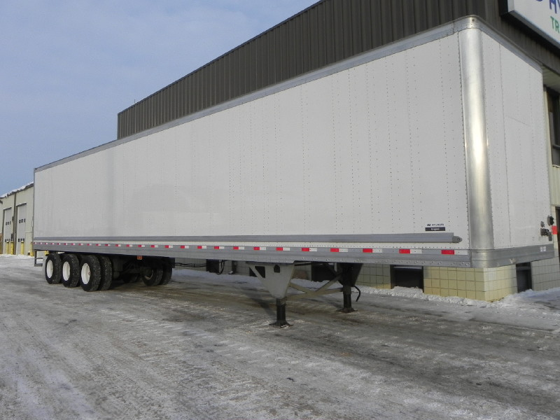 Insulated Heater Dry Van Trailer
