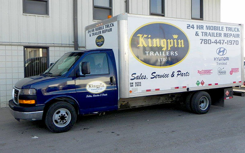 Go the Distance with Kingpin Truck and Trailer Mobile Repair Service