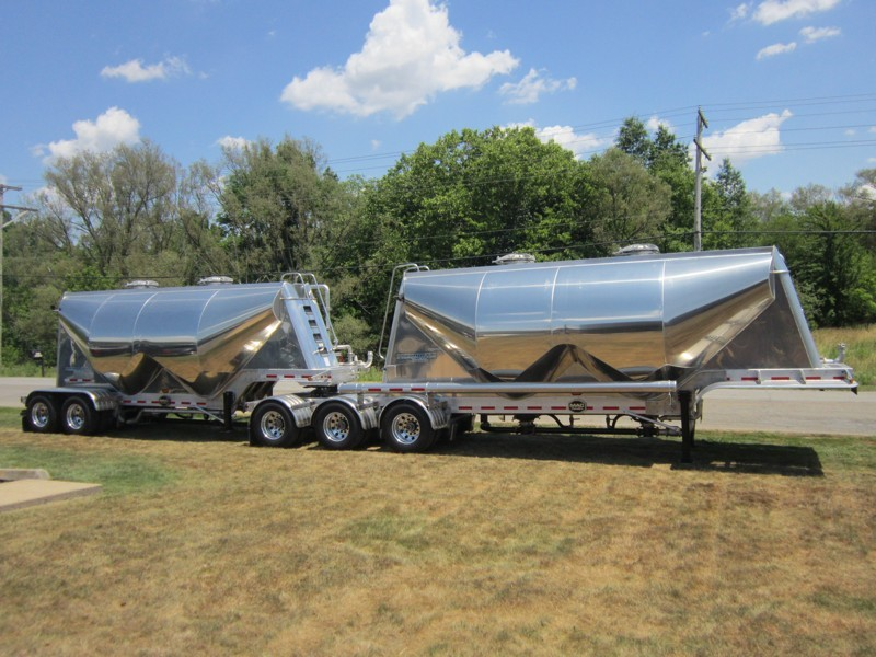 Pneumatic Low Cube Tank Trailers