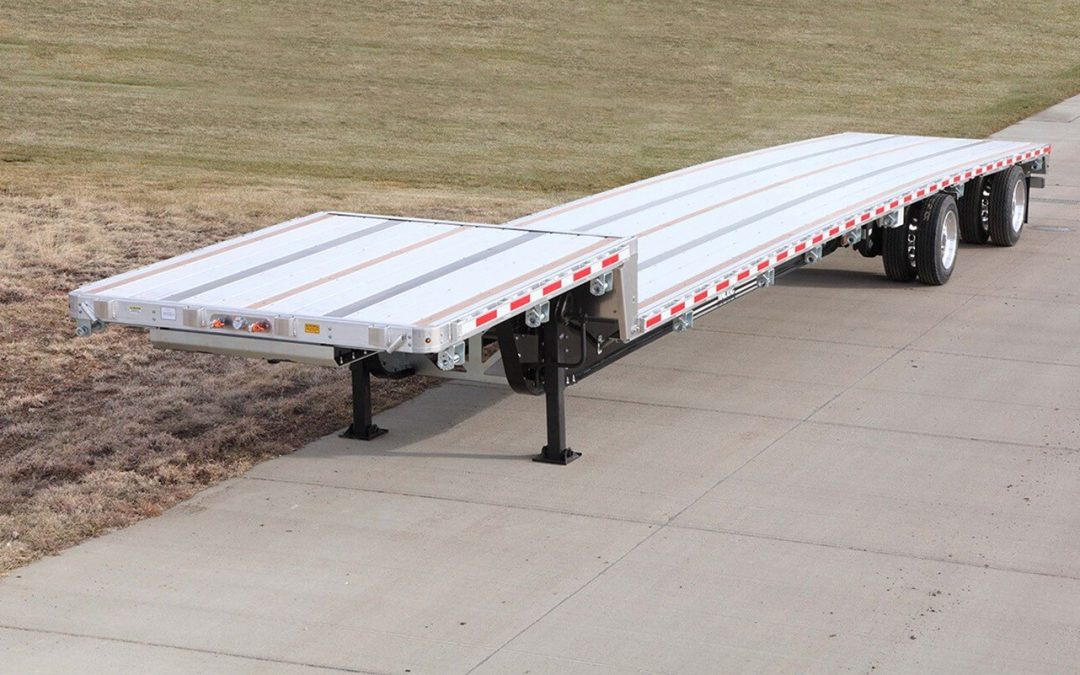 Combo Steel Aluminum Step Deck Trailer