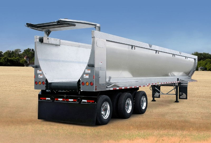 Conveyer Agricultural Trailer