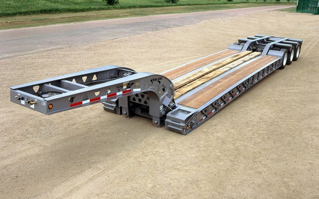 Commercial Hydraulic Detachable Gooseneck Lowbed Trailer