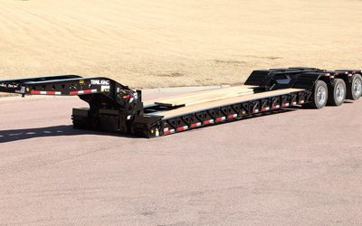 Trail King Mechanical and Hydraulic Gooseneck Lowboy Trailers