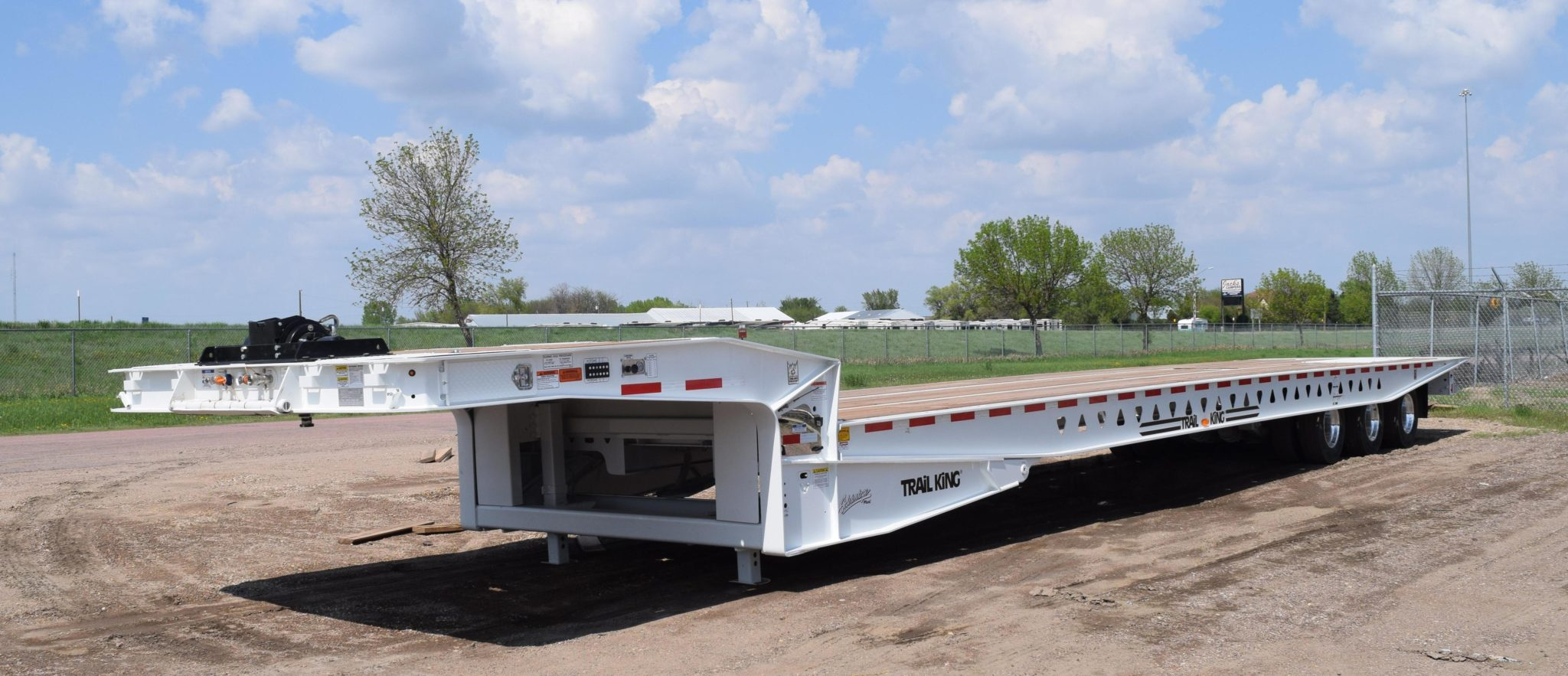 trail king sliding axle trailer