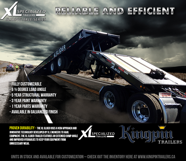 XL Specialized Trailers; Reliable and Efficient Sliding Axle Trailers